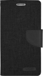 Mercury Canvas Diary Black (iPhone 5/5s/SE)