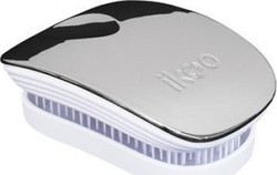 Ikoo Metallic Oyster White Pocket Brush