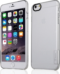 Baseus Ultra-thin Sky Case Silver Ημιδιάφανο (iPhone 6/6s Plus)
