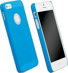 Krusell Back Cover Faceplate FrostCover Transparent Blue (iPhone 5/5s/SE)