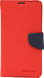 Mercury Fancy Diary Red / Navy (Galaxy J5 2016)