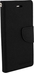 Mercury Fancy Diary Samsung Galaxy S6 Edge Black