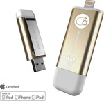 Adam Elements Iklips 64GB USB 3.0 Gold