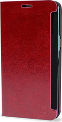 Olixar Leather-Style Red (Galaxy S6 Edge Plus)