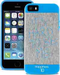 "Puro Happiness Jersey ""It' s hard to be me"" (iPhone 5/5s/SE)"