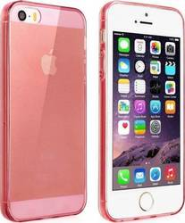 YouSave Accessories Clear Pink Gel Case (iPhone 5/5s/SE)