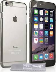 YouSave Accessories Hard Case Crystal Clear (iPhone 6/6s Plus)