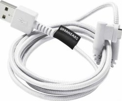 Urbanears Angle (90°) Braided USB to Lightning Cable Λευκό 1.2m (04091107)