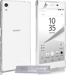 YouSave Accessories Hard Case Crystal Clear (Xperia Z5)