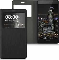 KW Flip Cover Black (P9 Lite)