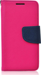 OEM Fancy Diary Pink/Navy (iPhone 5/5s/SE)