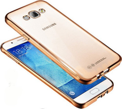 OEM Chrome Bumper Silicone Gold (Galaxy J5 2016)