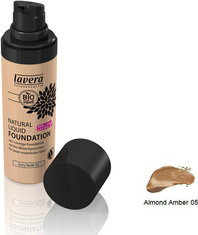Lavera Natural Liquid Foundation Almond Amber 30ml