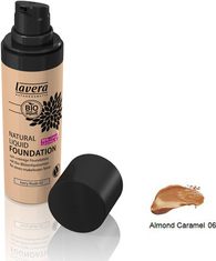 Lavera Natural Foundation Almond Caramel 30ml