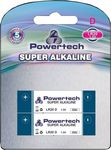 Powertech Super Alkaline D (2τμχ)