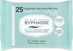 Byphasse Make-up Remover Wipes Aloe Vera Sensitive Skin 25τμχ