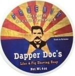 Phoenix Artisan Accoutrements Dapper Doc's Shaving Soap 114gr