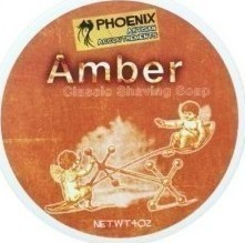 Phoenix Artisan Accoutrements Amber Shaving Soap 114gr