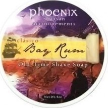 Phoenix Artisan Accoutrements Bay Rum Classic Shaving Soap 114gr