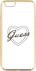 Guess TPU Heart Gold (iPhone 6/6s)