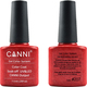 Canni Nail Art Color Coat 207 Obsessed Red