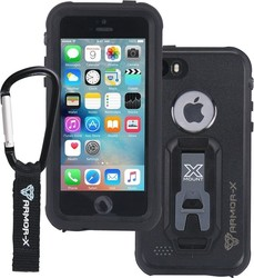 Armor-X IP68 Ultimate Waterproof Μαύρο (iPhone 5/5s/SE)
