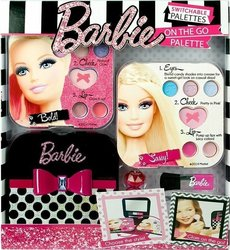 "Markwins International Barbie ""Get Your Glam On!"" Makeup Stylist Compact Accessories"