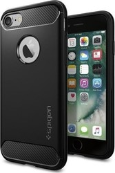 Spigen Rugged Armor Μαύρο (iPhone 8/7)