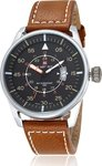 Naviforce 9044 Brown - Silver