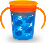 Munchkin Miracle 360° Deco Trainer Cup Blue Whale 177ml