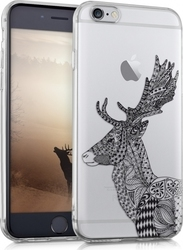 KW Slim Fit Gel Reindeer Διάφανο (iPhone 6/6s)