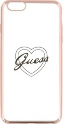 Guess TPU Heart Rose Gold (iPhone 6/6s Plus)