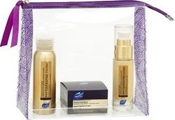 Phyto Phytokeratine Travel Kit Shampooing D' Exception 50ml, Masque d' Exception 50ml & Creme d' Exception 50ml