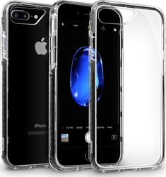 Orzly Fusion Bumper Clear Μαύρο (iPhone 8/7 Plus)
