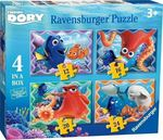 Finding Dory 4 in Box pcs (07399) Ravensburger