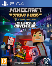 Minecraft Story Mode A Telltale Games Series (The Complete Adventure) PS4