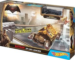 Mattel Hot Wheels: Batman Vs Superman - Batman Zip-Line Launcher