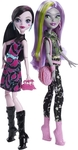Mattel Monster High Dance the Fright Away - Draculaura & Moanica Dolls