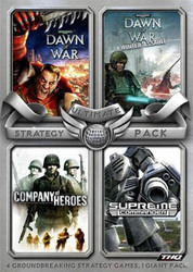 Ultimate Strategy Pack (Company Of Heroes + Supreme Commander + Dawn Of War + Dawn Of War Winter Assault) PC