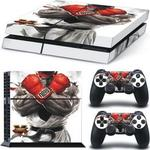 OEM Sticker Skin Protector Street Fighter V Console & Dualshock PS4