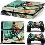 Sony Sticker Skin Protector Street Fighter V Ryu Mitts Console & Dualshock PS4 PS4