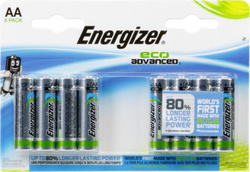 Energizer Eco Advanced AA (8τμχ)