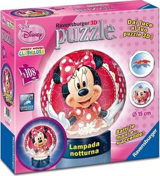 Μπάλα - Λάμπα Minnie Mouse 108pcs (12234) Ravensburger