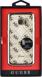 Guess Faceplate Gold (Galaxy S7 Edge)