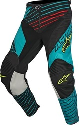 Alpinestars Racer Braap Pants Teal/Black/Yellow