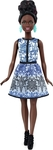 Mattel Barbie Fashionistas: Blue Brocade - Petite