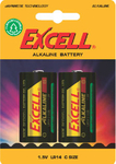 Excell Alkaline Battery C (2τμχ)