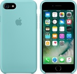 Apple Silicone Case Sea Blue (iPhone 7)