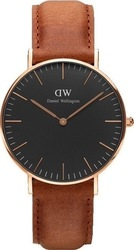 Daniel Wellington Durham Classic Black / Rose Gold 36mm
