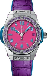 Hublot Bing Bang One Click Pop Art Steel Purple 465.SV.7379.LR.1205.POP16